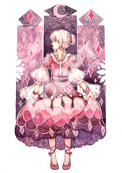 Adoptable Auction [OPEN] Deep Pink Lady