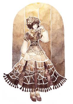 Dark brown Lady