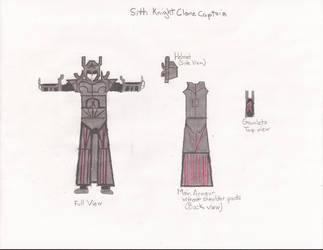 Sith Knight Clone - Captain by Zorzathir