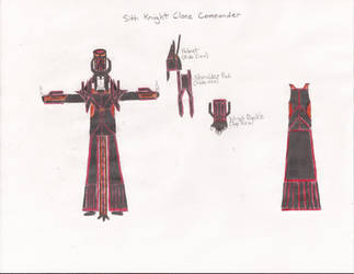 Sith Knight Clone - Commander by Zorzathir