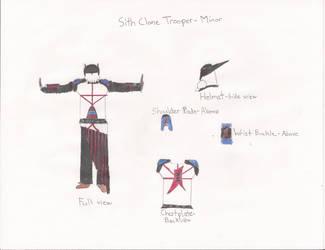 Sith Clone Trooper - Minor by Zorzathir