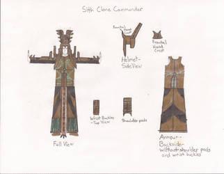Sith Clone Trooper - Commander by Zorzathir