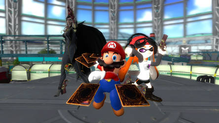 If Mario was in Bayonetta (featuring Meggy) by piotr182xx