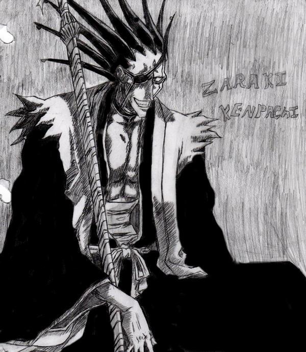 Zaraki Kenpachi waaaa by danielrules01