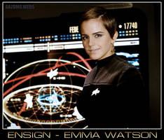 Ensign Emma Watson by gazomg