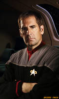 Scott Bakula Captain Archer in DS9