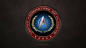 United Federation of Planets logo Starfleet Update by gazomg