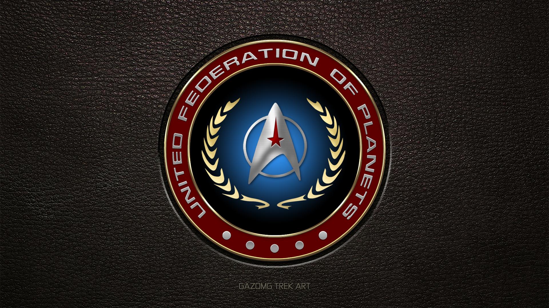 United Federation Of Planets Logo Starfleet Update By Gazomg On