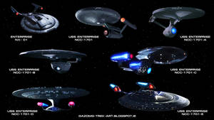 Star Trek the Enterprises