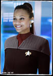 Zoe Saldana in Deep Space Nine Star Trek Random