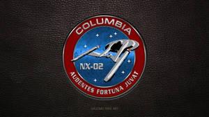 Star Trek Columbia NX02 Logo (updated)