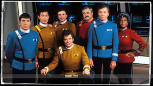 Star Trek Wrath of Khan colored Uniforms