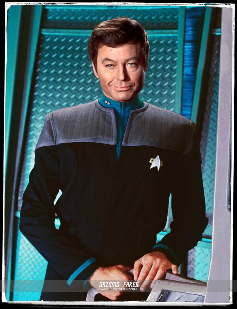 Star Trek Originals in DS9 Dr Bones McCoy by gazomg on DeviantArt