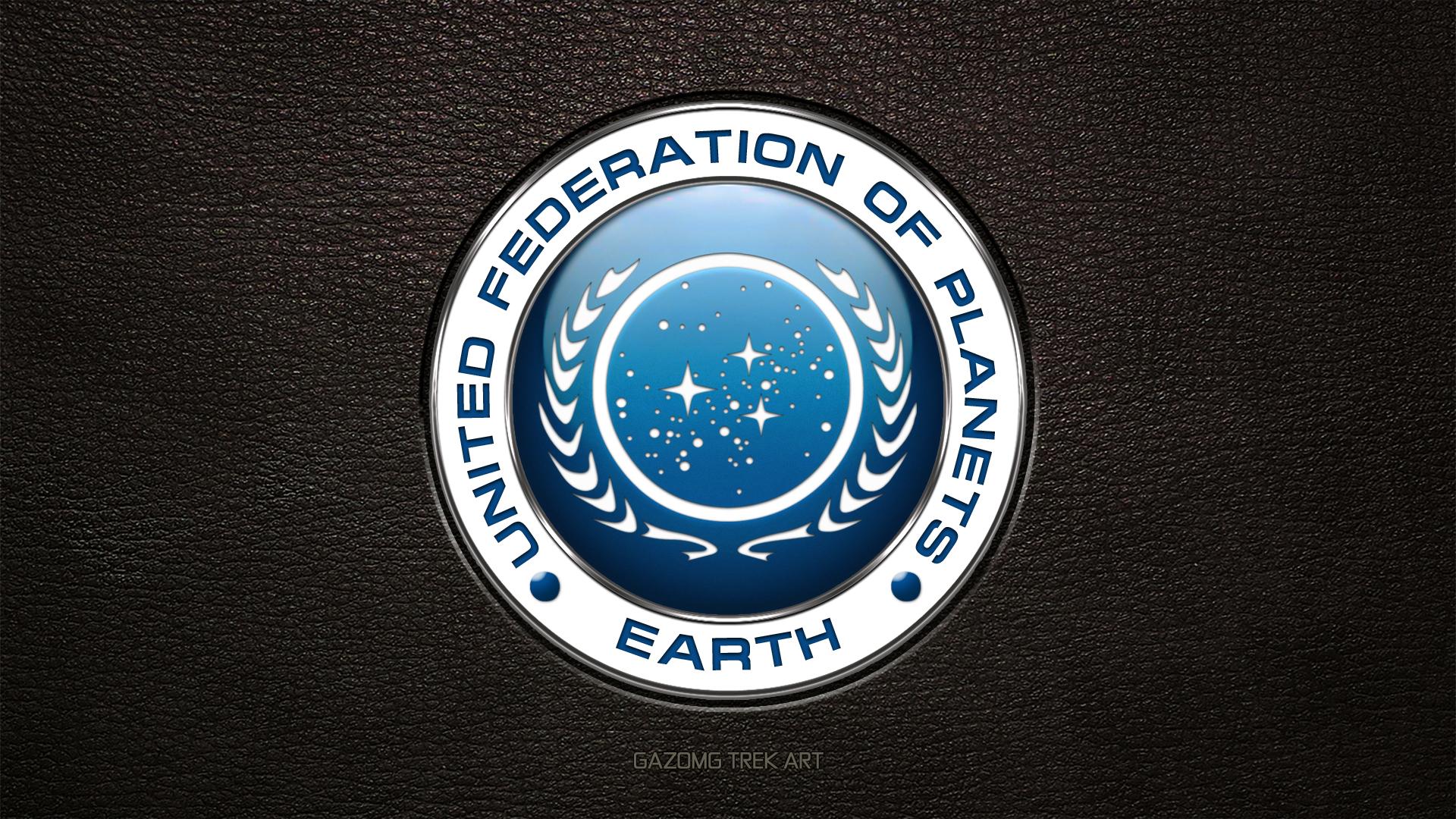 Star Trek Logo United Federation Of Planets Update By Gazomg On