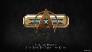 Star Trek TWOK Combadge Updated
