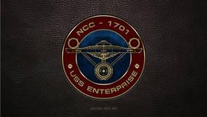 USS Enterprise Patch Star Trek