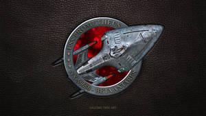 Star Trek USS Prometheus Ship Patch UPDATE
