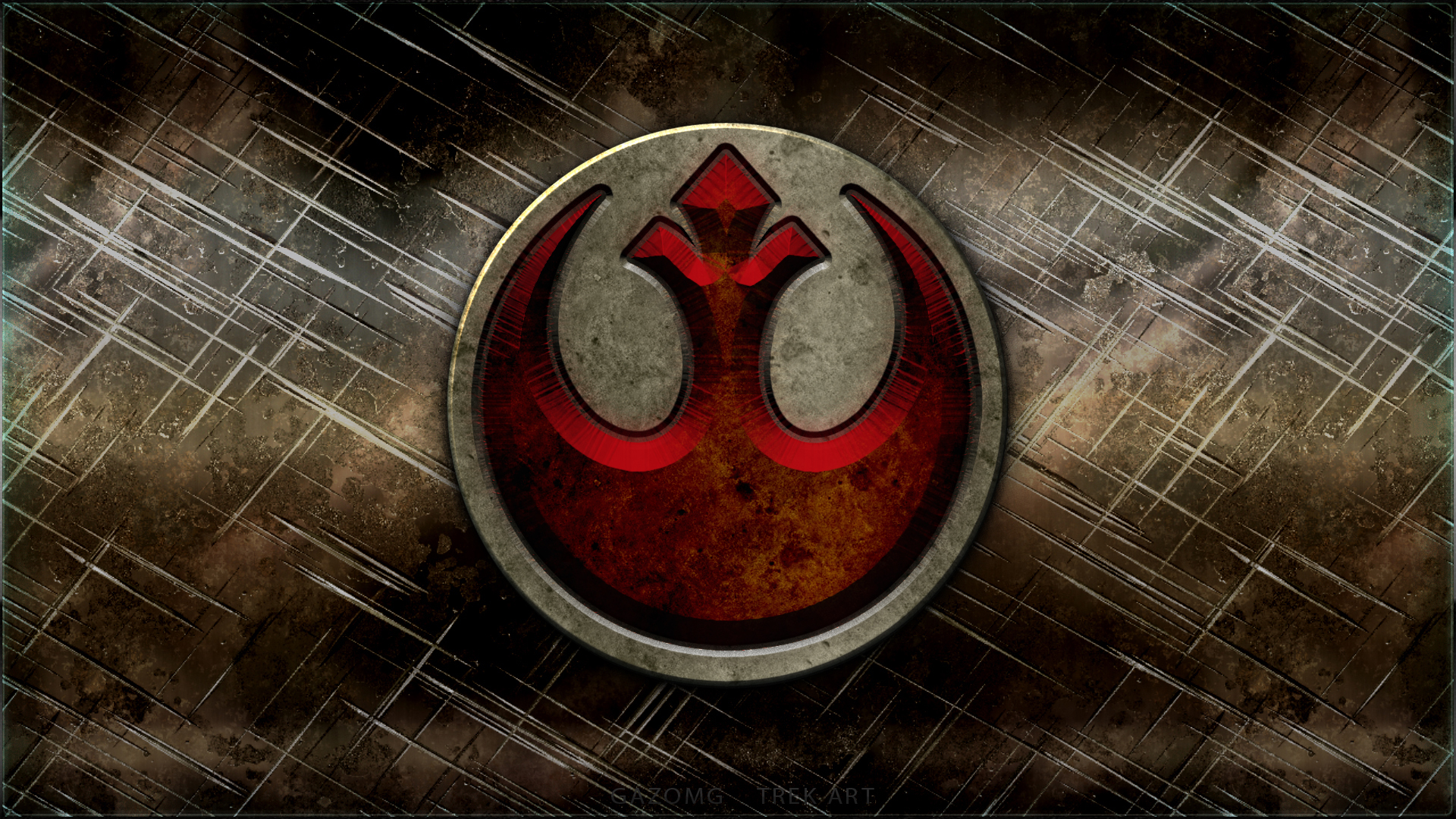 Star Wars Rebel Alliance Logo By Gazomg On Deviantart