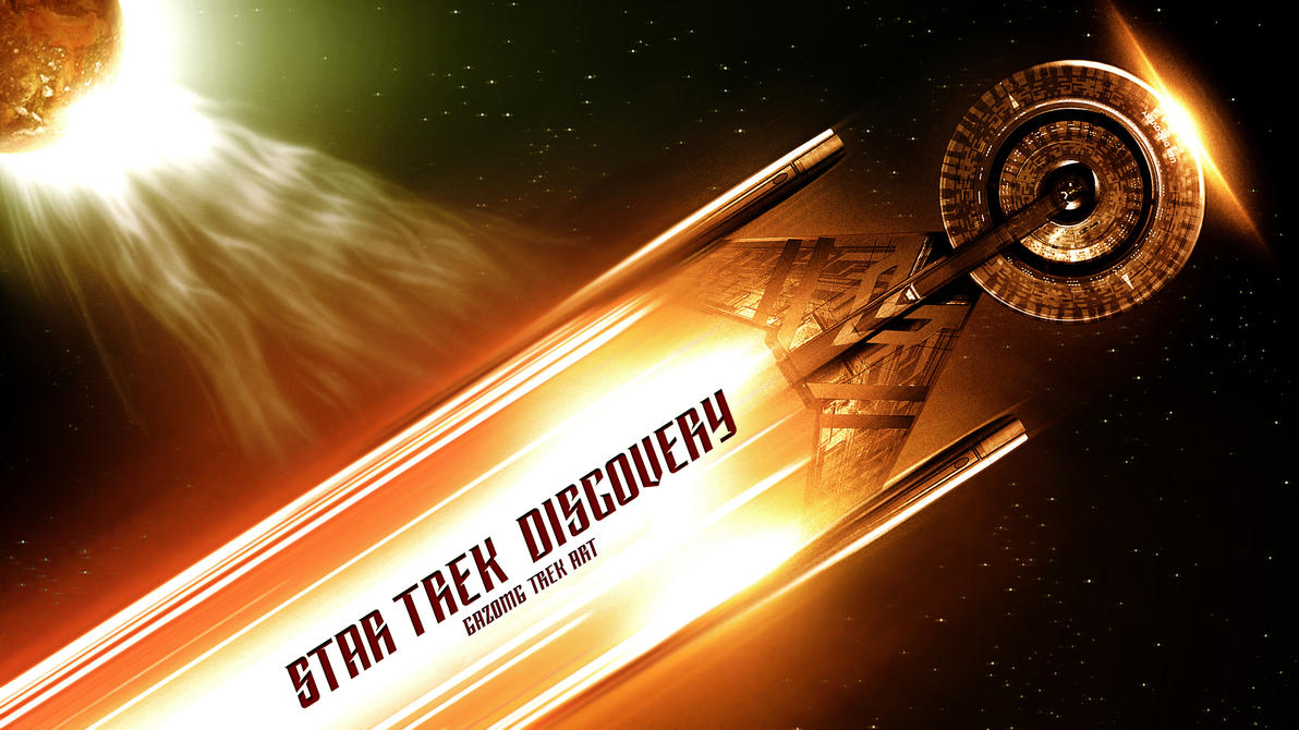 Star Trek Discovery Wallpaper Hd: Star Trek Wallpaper Series #7 Discovery By Gazomg On