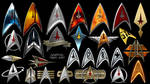 Star Trek Deltas and Logos