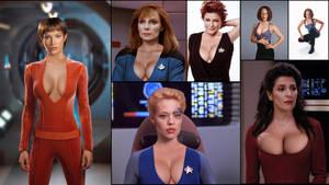 Enhanced Women of Star Trek 1
