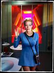 7 of 9 Star Trek Retro