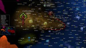 Star Trek Map Cardassian Union Sector UPDATED