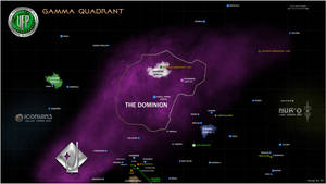 Star Trek Gamma Quadrant Map
