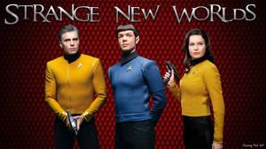 Star Trek Strange New Worlds Wallaper