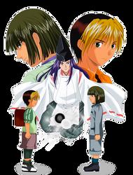 Hikaru No Go- Friends Forever by pentium11