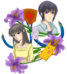 Fruits Basket-Yuki y Machi by pentium11