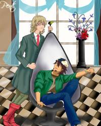 Barnaby y Kotetsu by pentium11