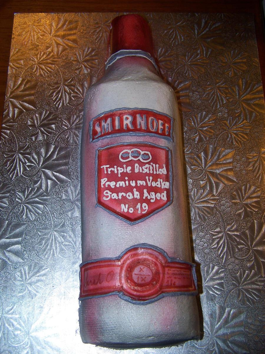 Smirnoff Bottle Cake By Veedeb On Deviantart