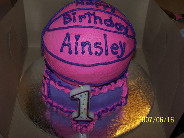Basketball Cake Girls Edition By Veedeb