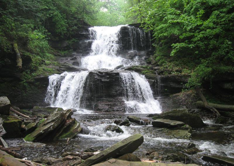 Tuscarora Falls by Bennuendo