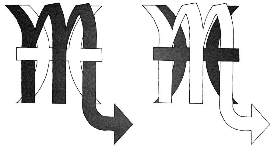 Pisces Scorpio Tattoo Idea By Bennuendo On Deviantart