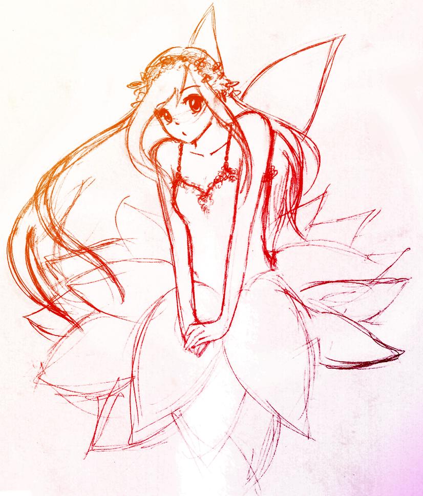Kalachuchi, the Fairy by Shaman-Hearts on DeviantArt