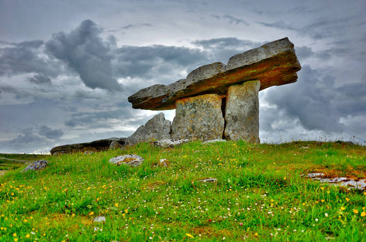 Poulnabrone Ancient Tomb