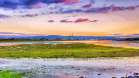 Sunset Over Bull Island