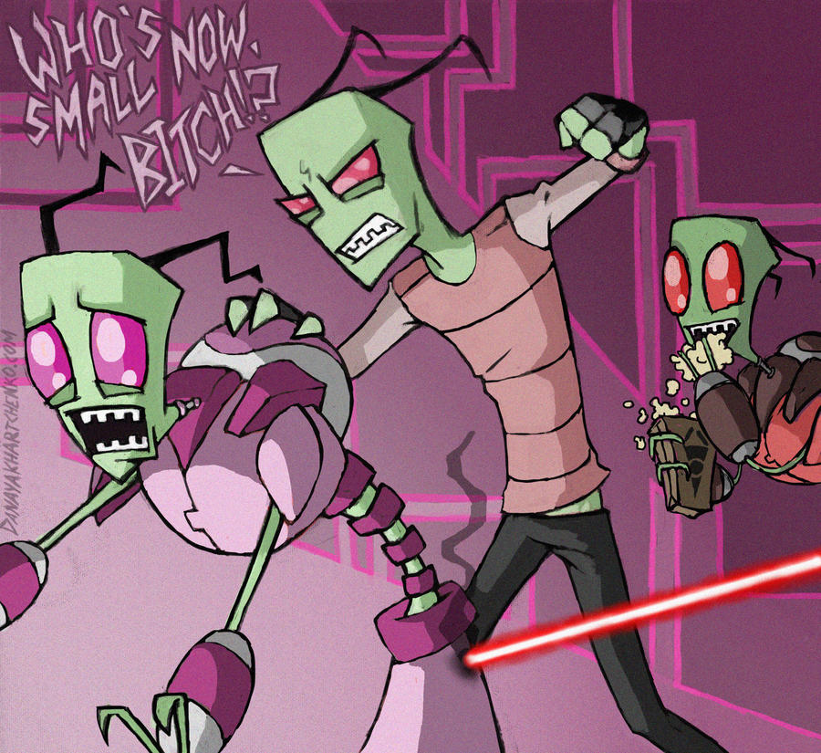 Invader zim obey the fist