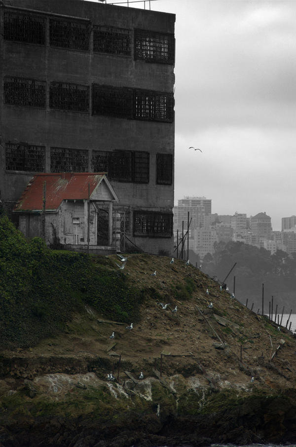 Lonely Island Home by Philzang