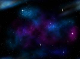 Nebula background by Slaskia
