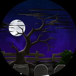 Halloweenish scene