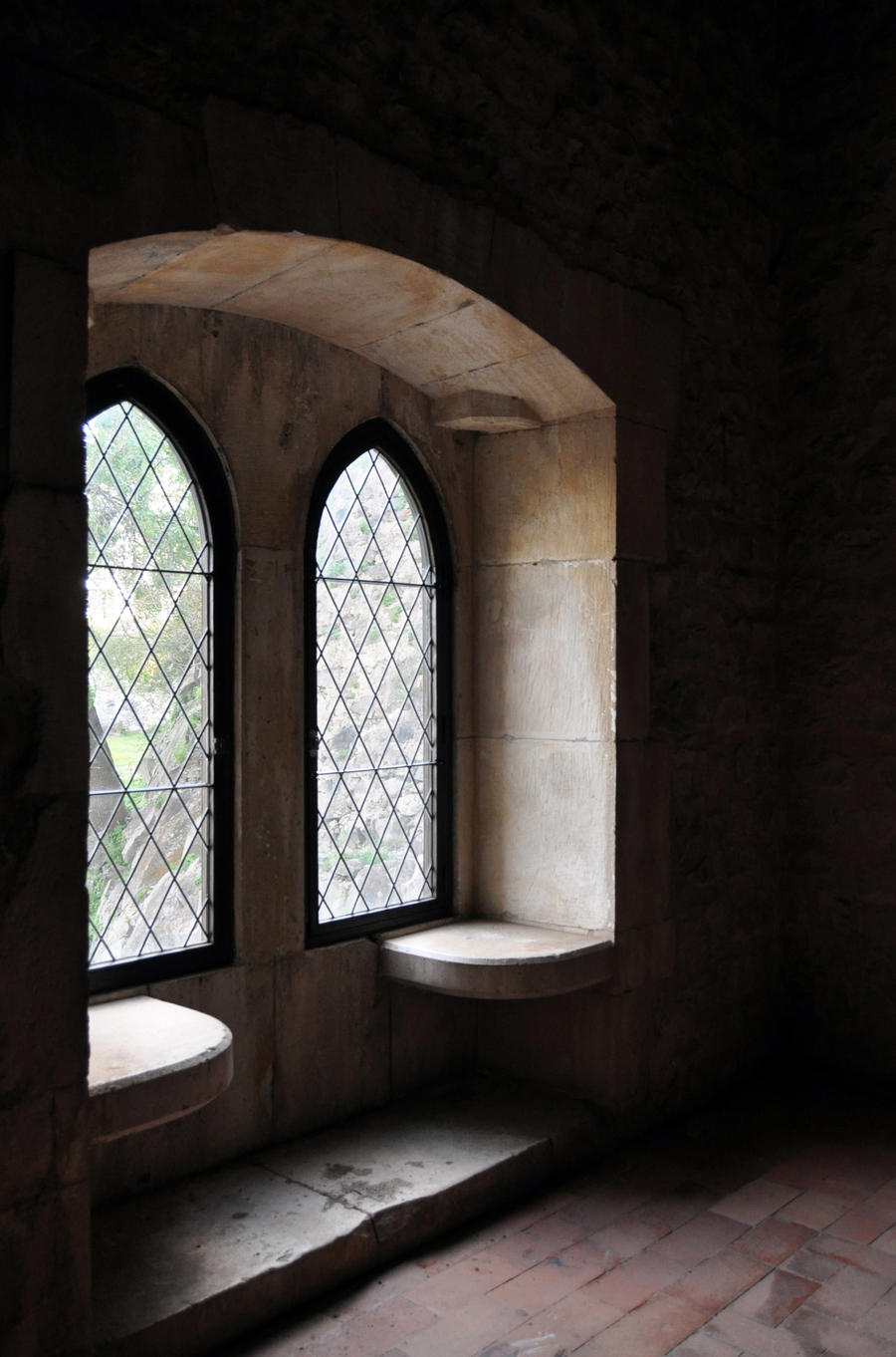 Medieval Castle - Interior - Window Seat | Keys To The ...