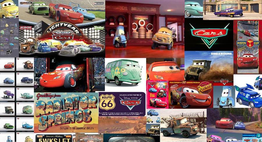 pixar cars wallpaper. Pixar Cars Wallpaper by