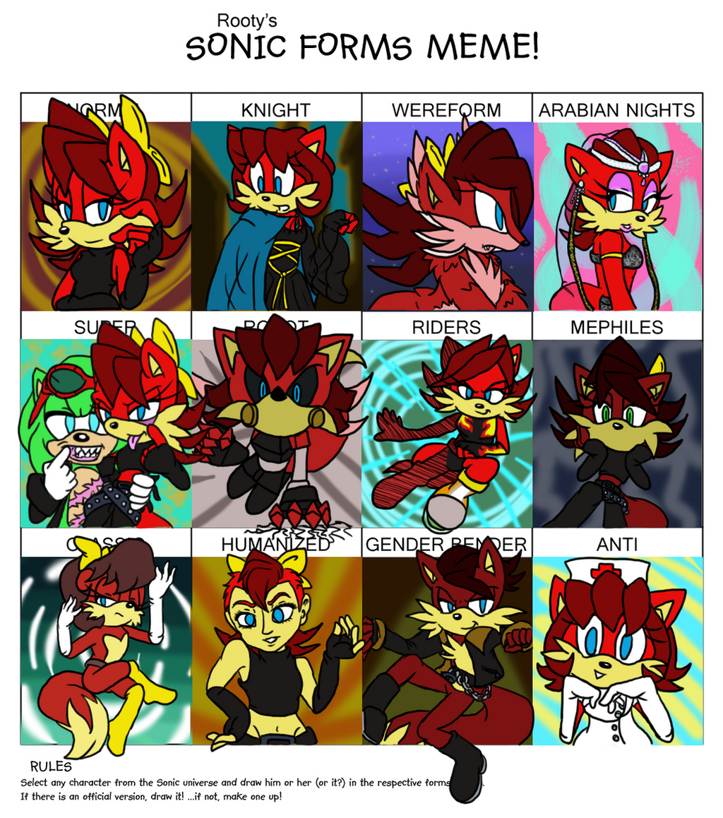Sonic Forms: Fiona Fox Meme Form By Ncond3 On DeviantArt