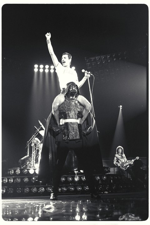 When Freddie met Darth Vader by DarkFlame11