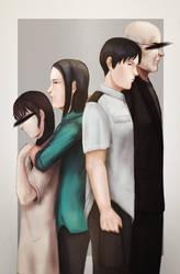 Ajin Fanzine - Family by Chooone