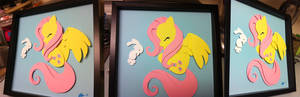 Commission:  Fluttershy Shadowbox
