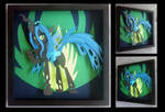 [Available] : Queen Chrysalis Shadowbox
